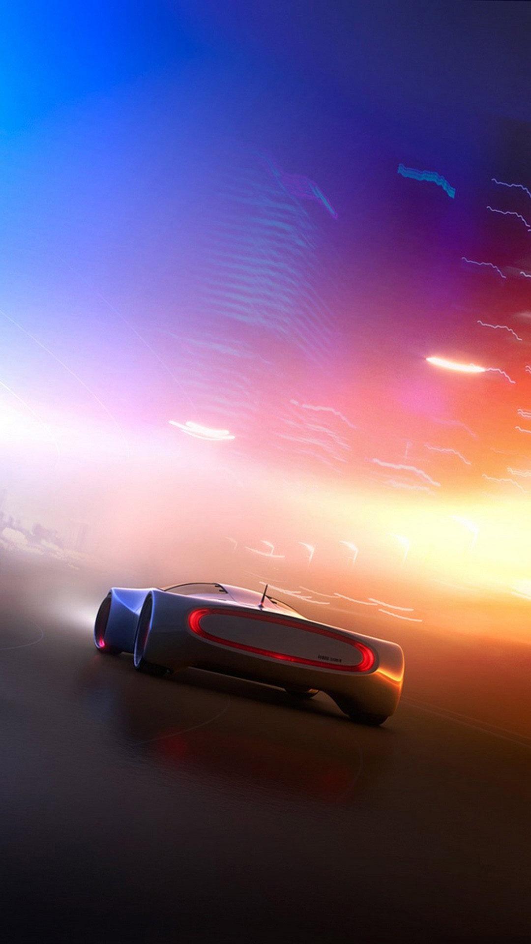 Futuristic car concept