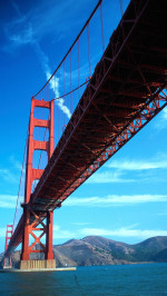 Golden gate-bridge world