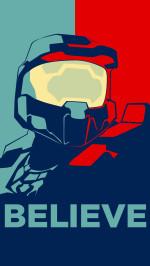 Halo Believe vector