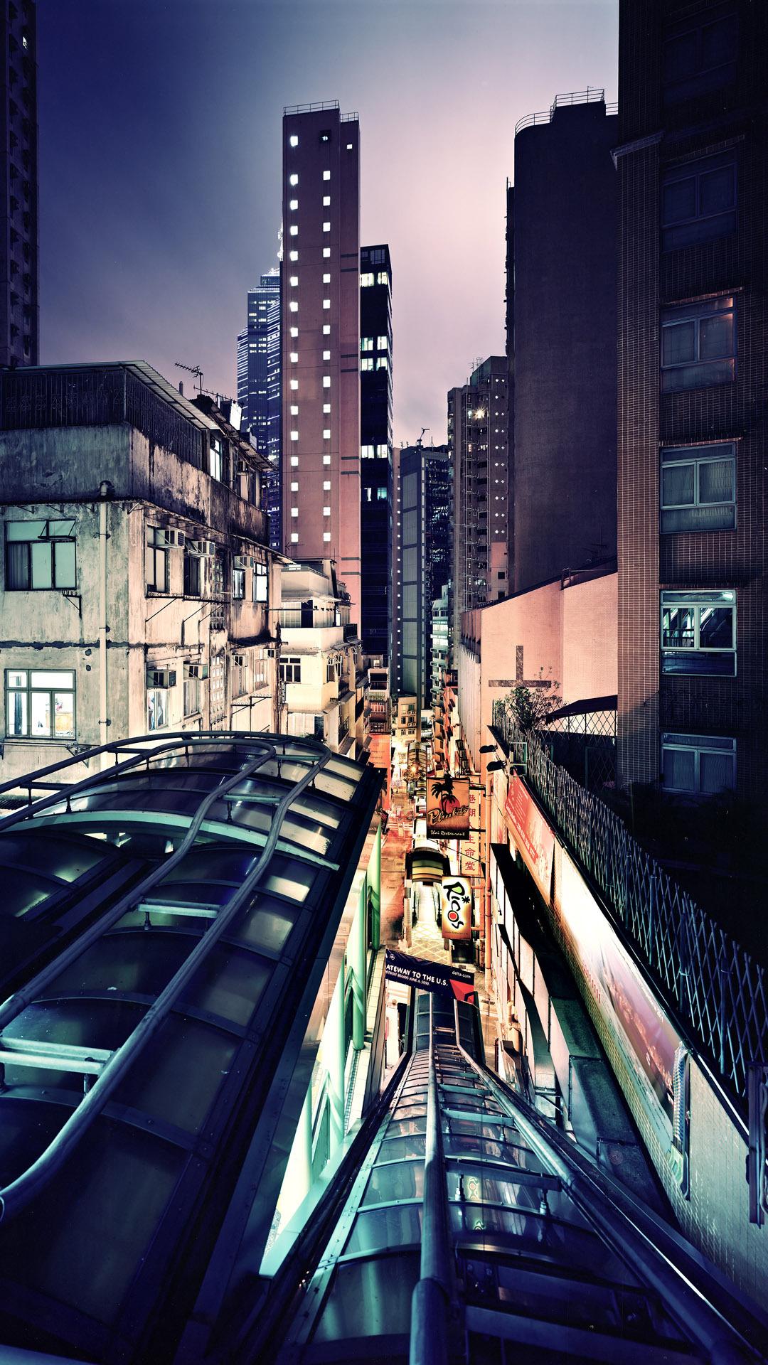 Night in Hong Kong