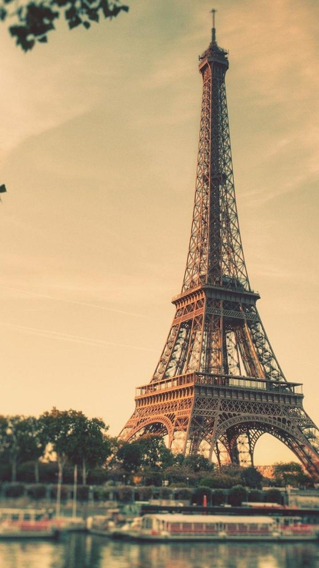Eiffel Tower Paris Sunrise Tilt Shift