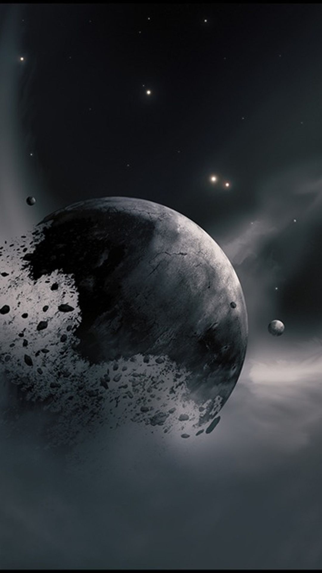 Fragmentation Of A Planet