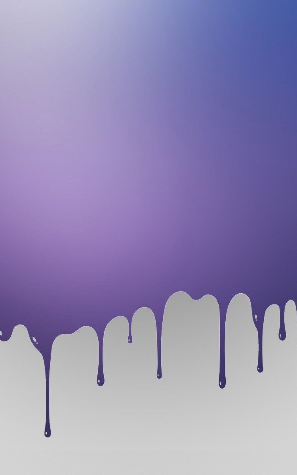 Purple Paint Splash Lockscreen