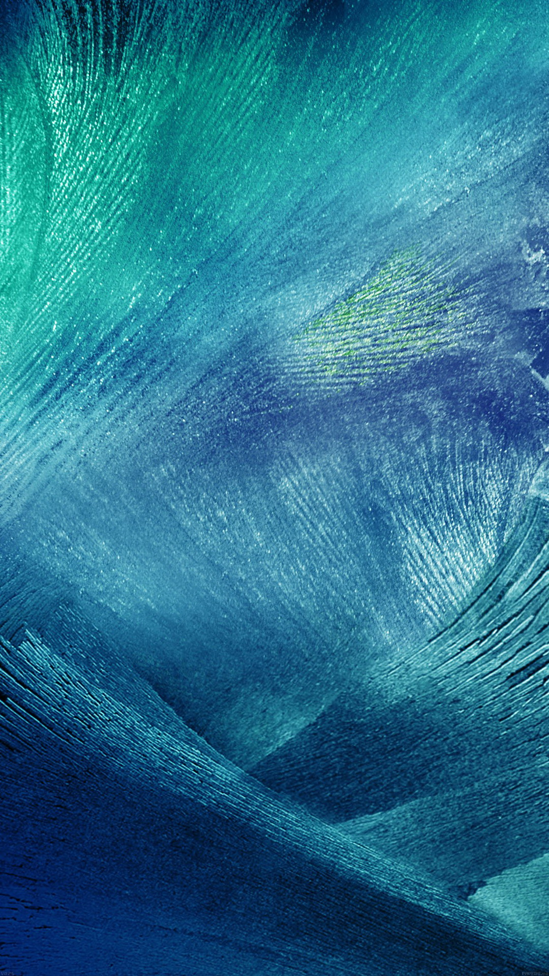 Blue Icy texture