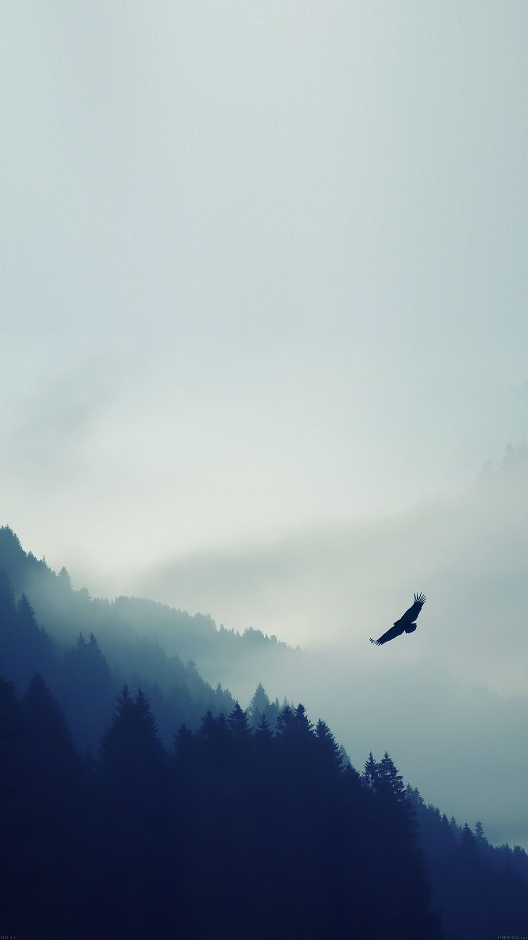 Eagle mountain blue sky