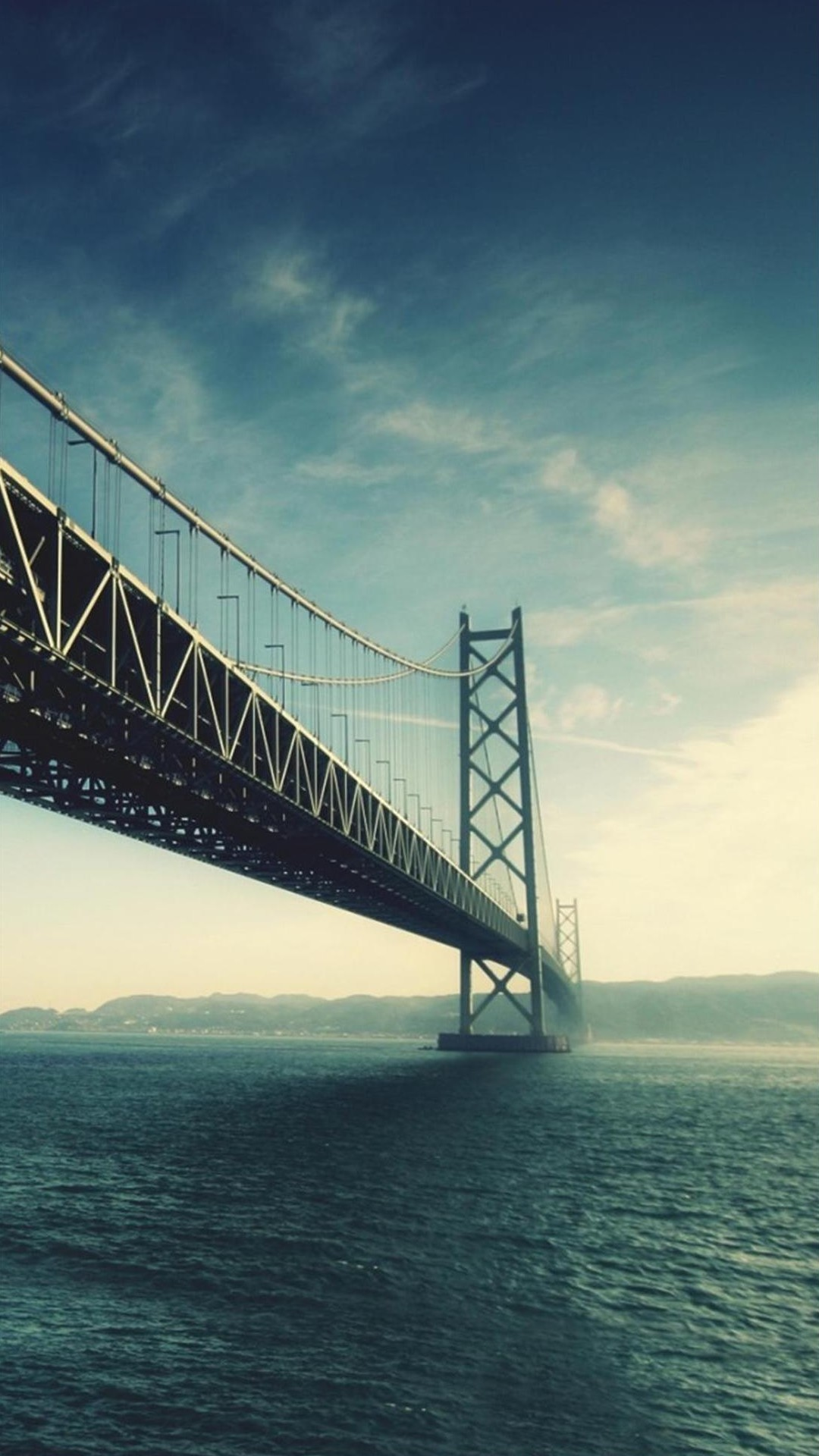 Great bridge sea