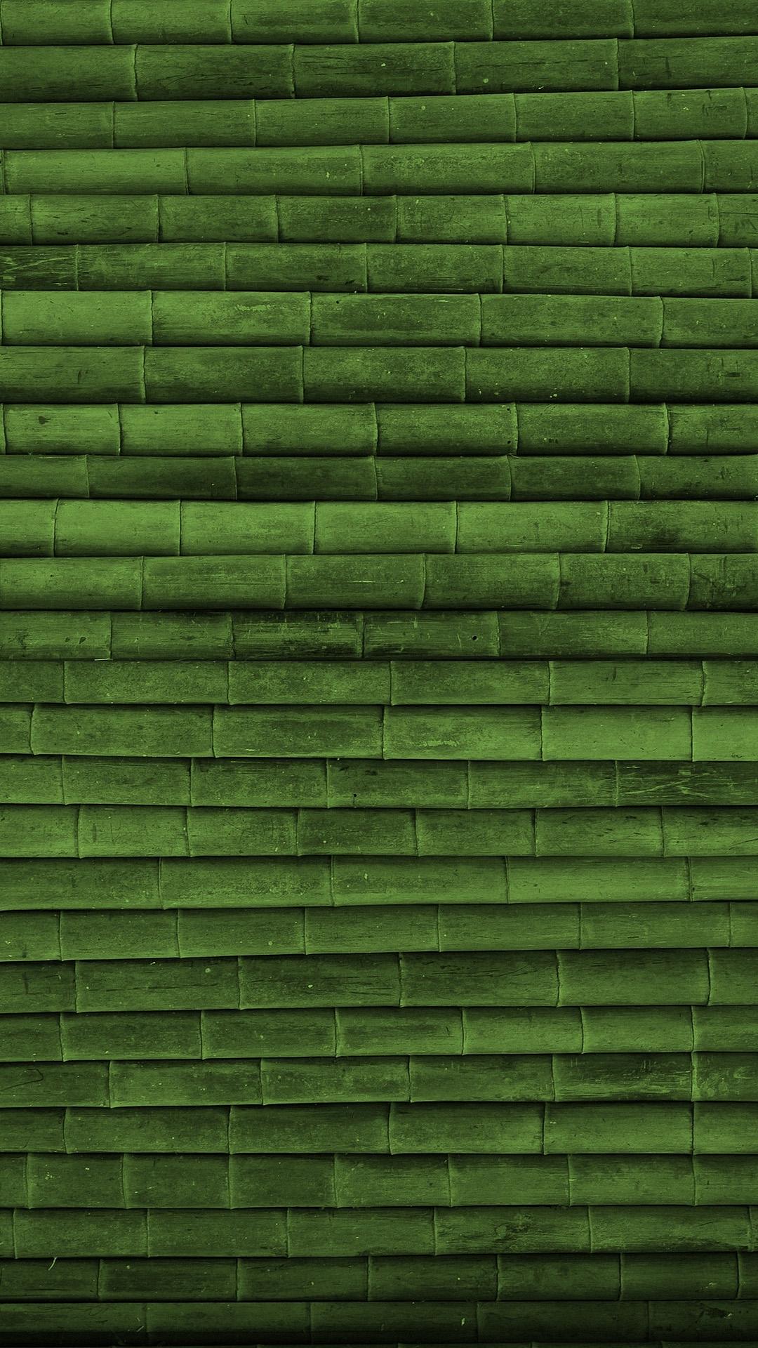 Green Bamboo Wood Texture
