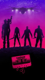 Guardians galaxy poster