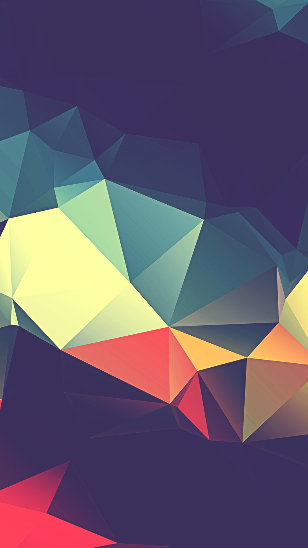 top polygon wallpaper abstract - photo #20