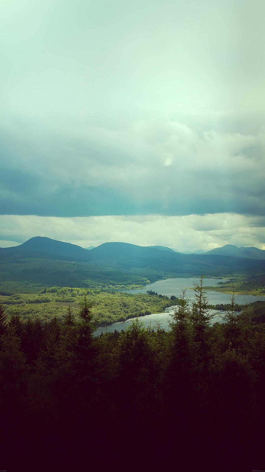 Mountain Landscape Sunny