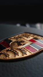 Porsche Logo Macro