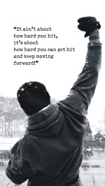 Rocky Motivational Words