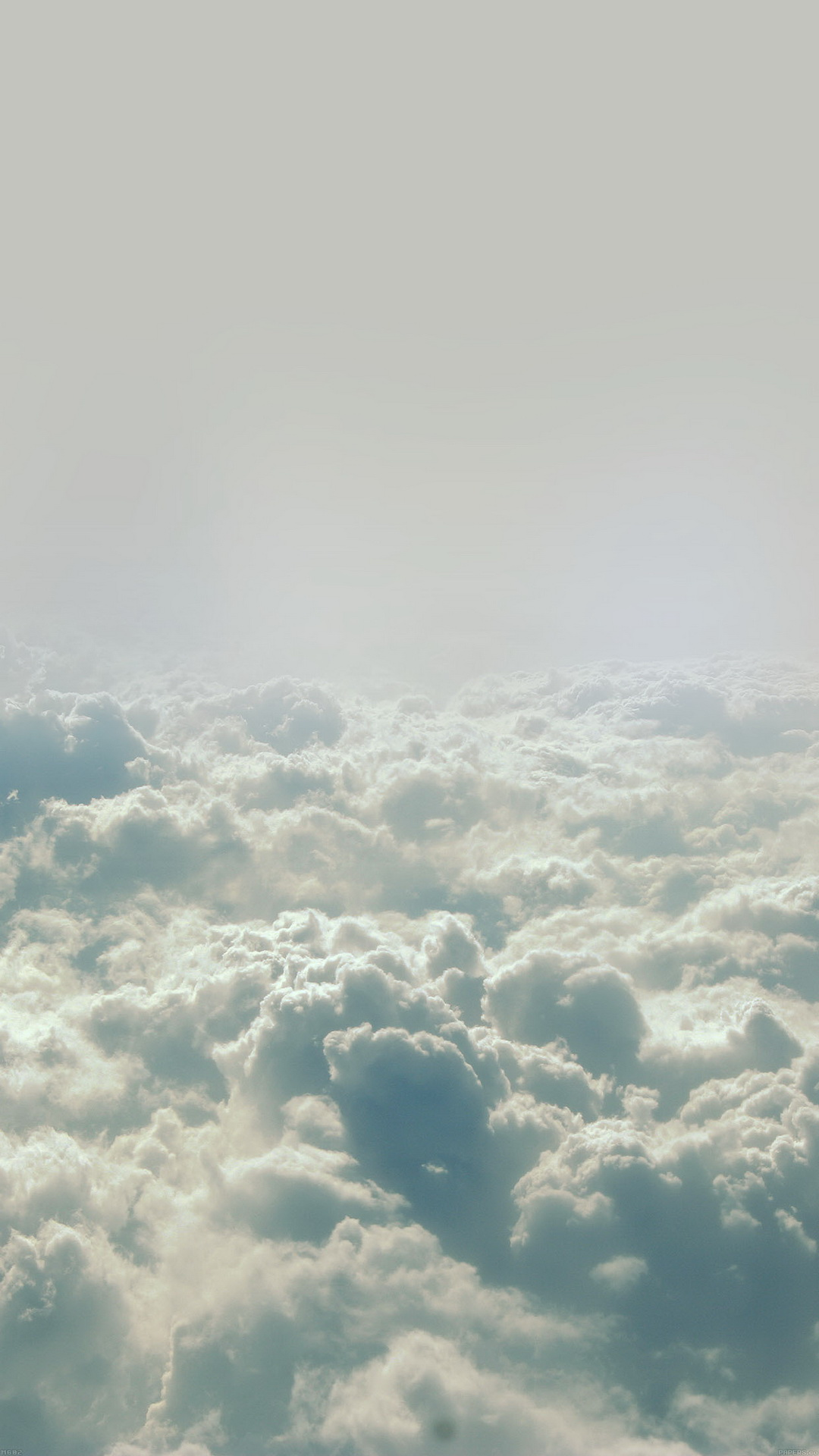 Cloud flare blue sky