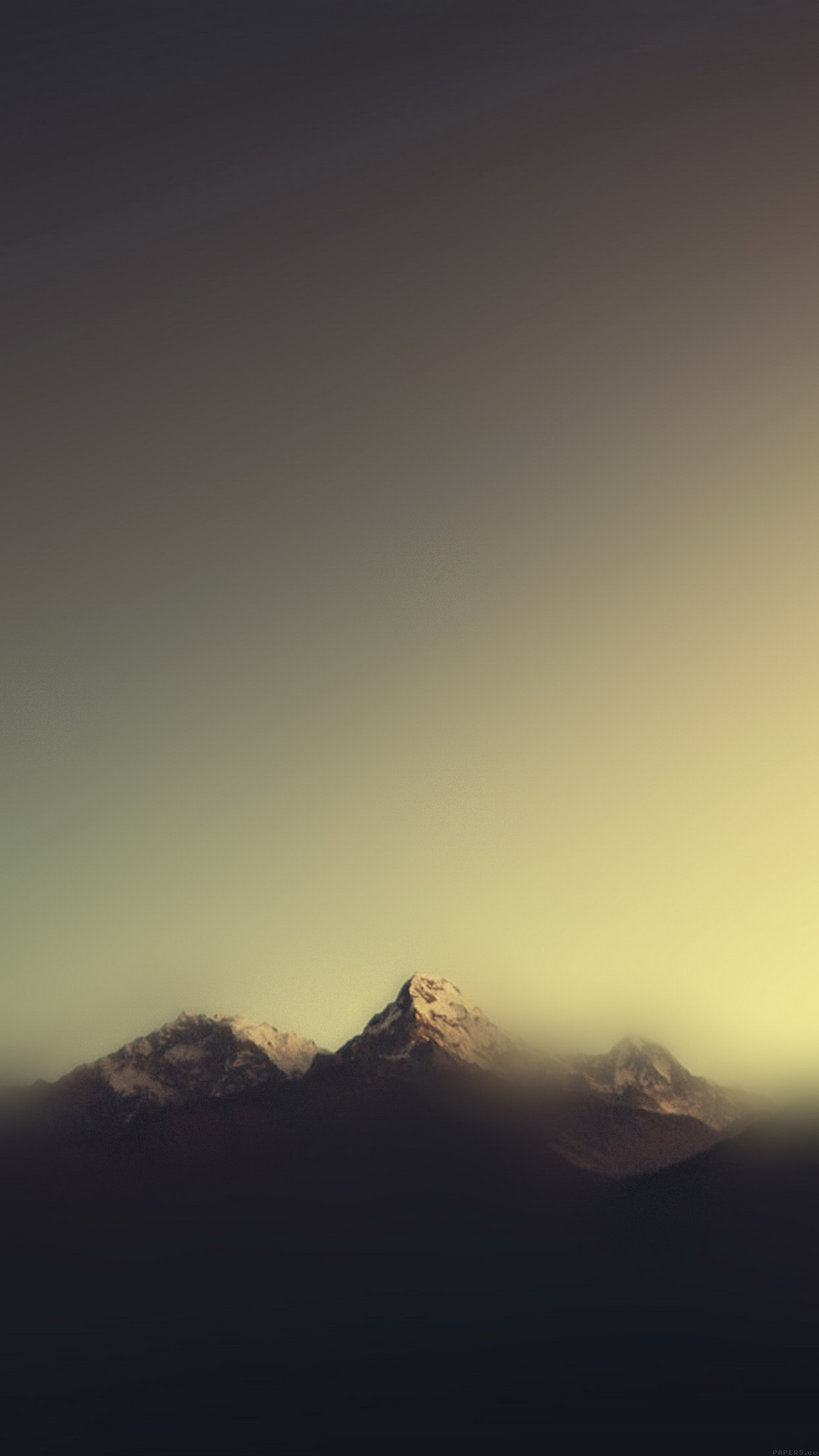 Mountain Blur Minimal Best Htc One Wallpapers