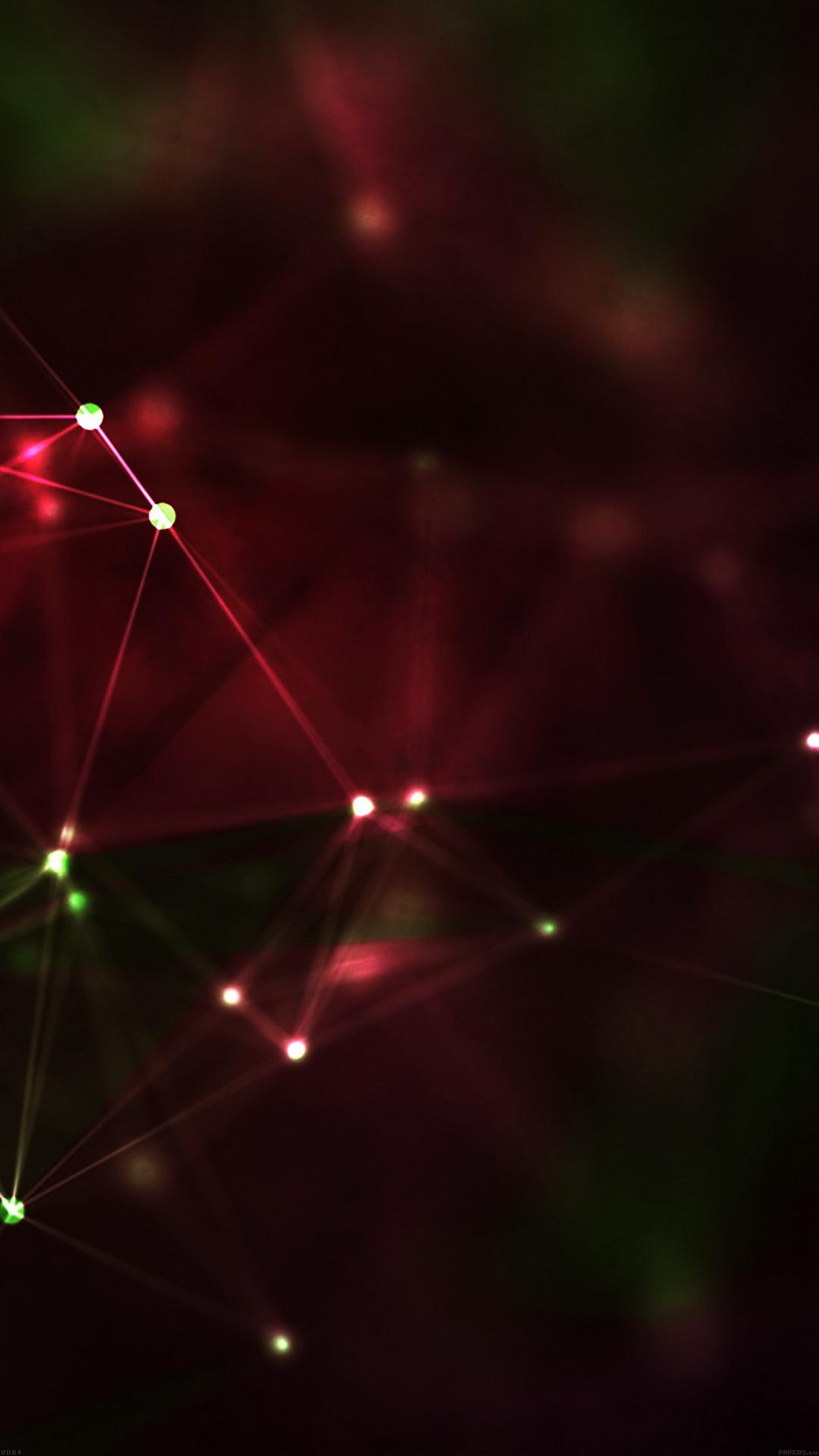 Scifi web red pattern