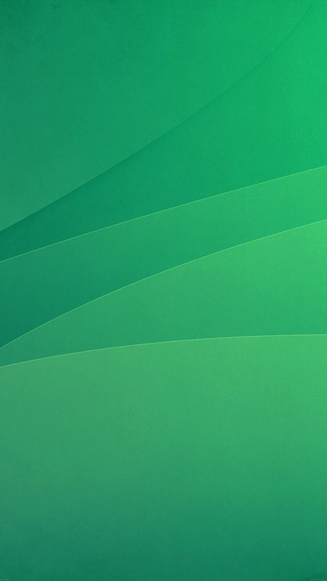 Shining aqua green