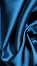 Blue Silk Fabric
