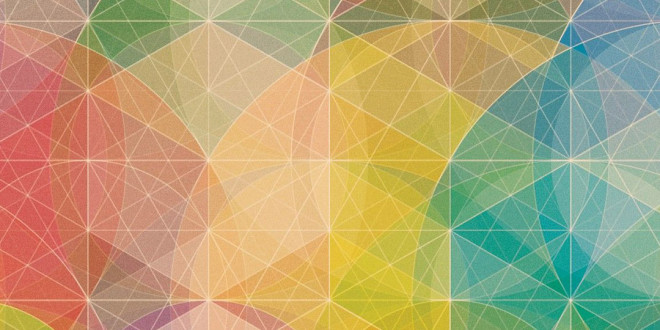 Free Colorful Geometric Wallpaper: Colorful Geometric Patterns