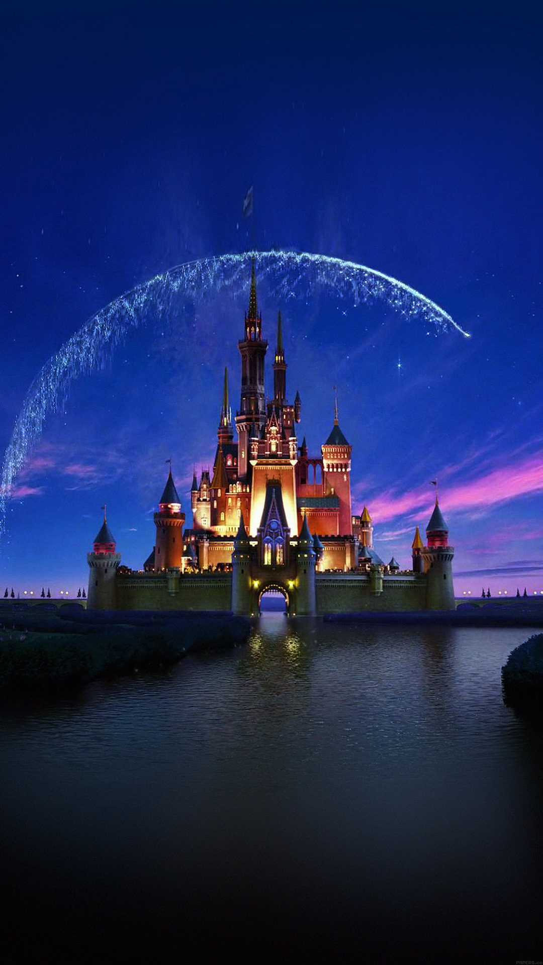 Disney Castle - Top 10 HTC One M9 wallpapers free download