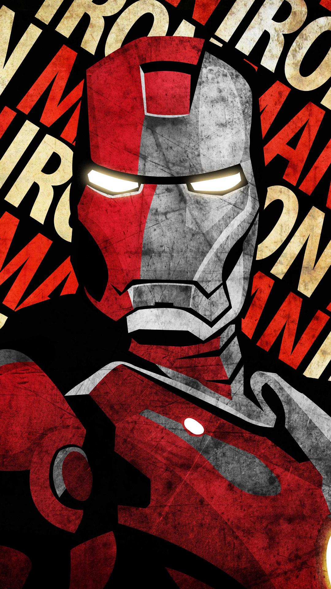 Iron man comic