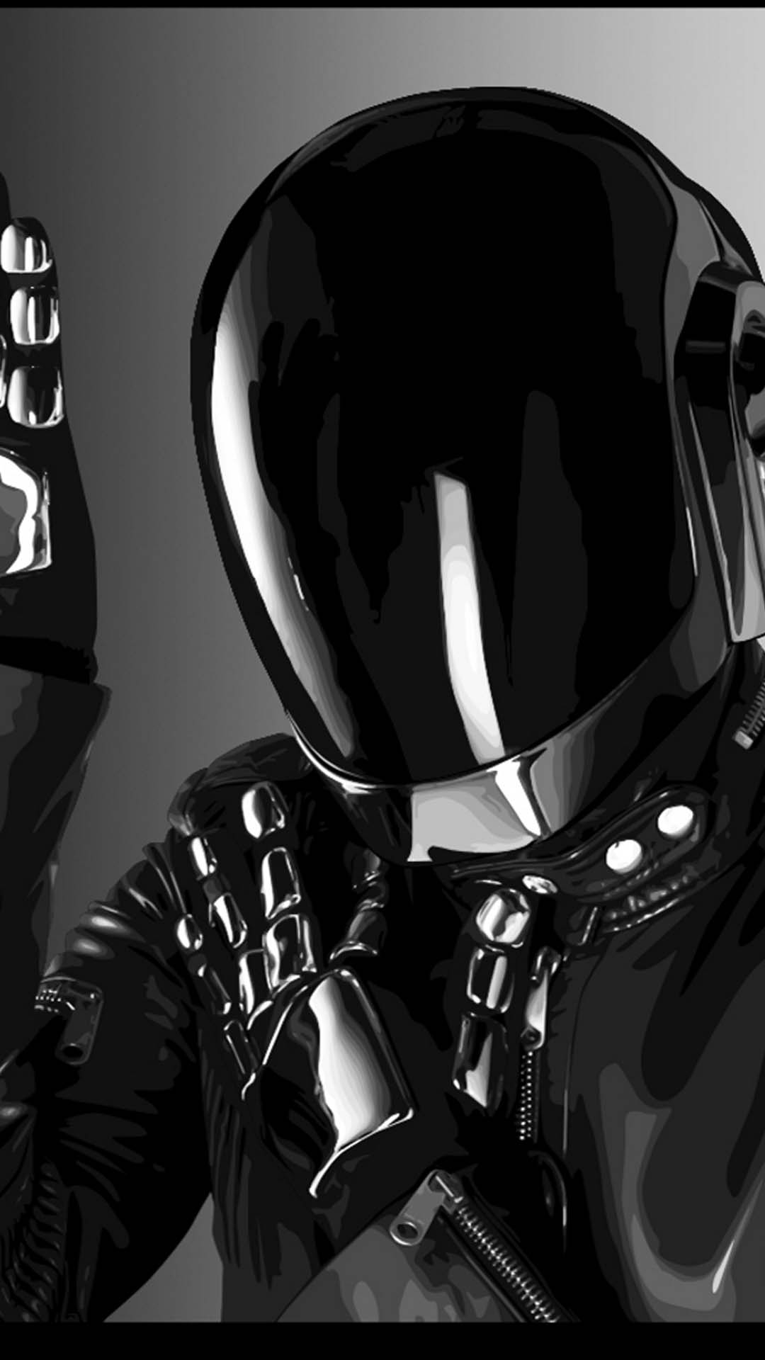 Daft Punk Shiny Helmet
