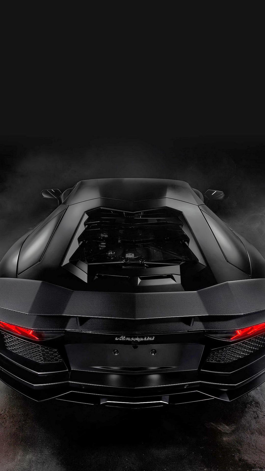 Lamorghini Aventador dark