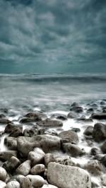 Sea Rocks Waves