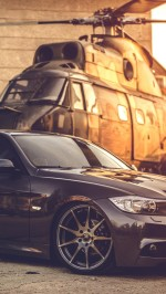 BMW E90 helicopter