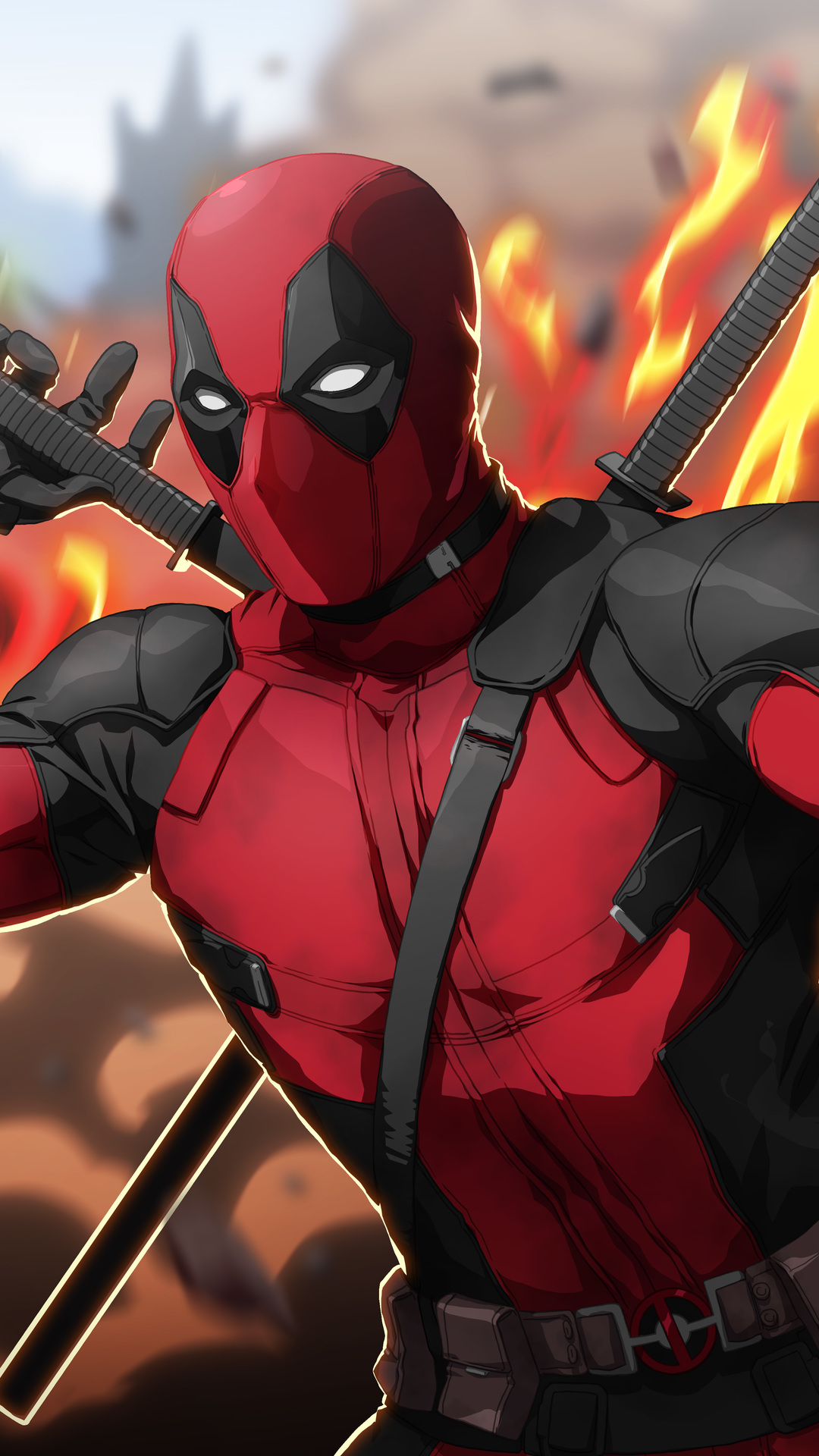 Deadpool Artwork 4k Best Htc One Wallpapers Free And Easy