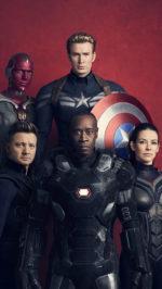 Infinity war crew