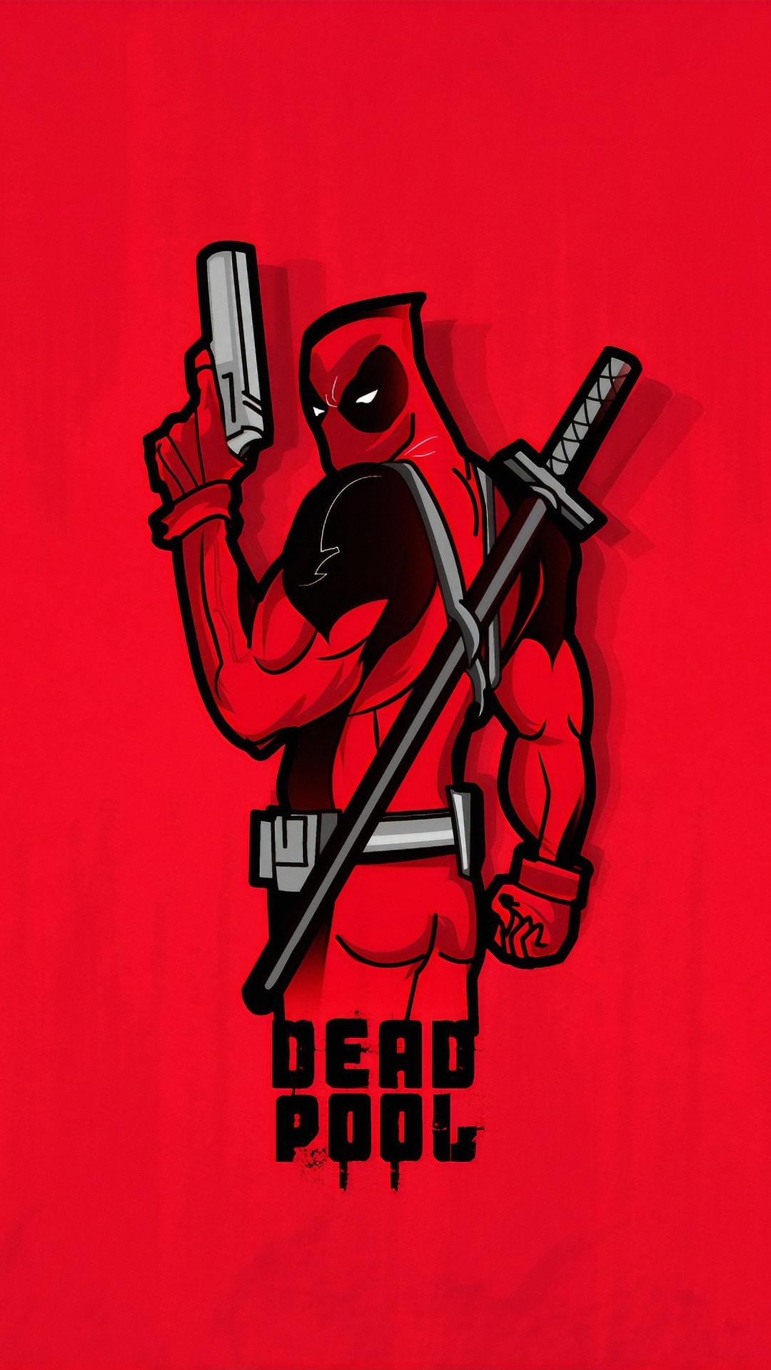 Deadpool 4k Minimal