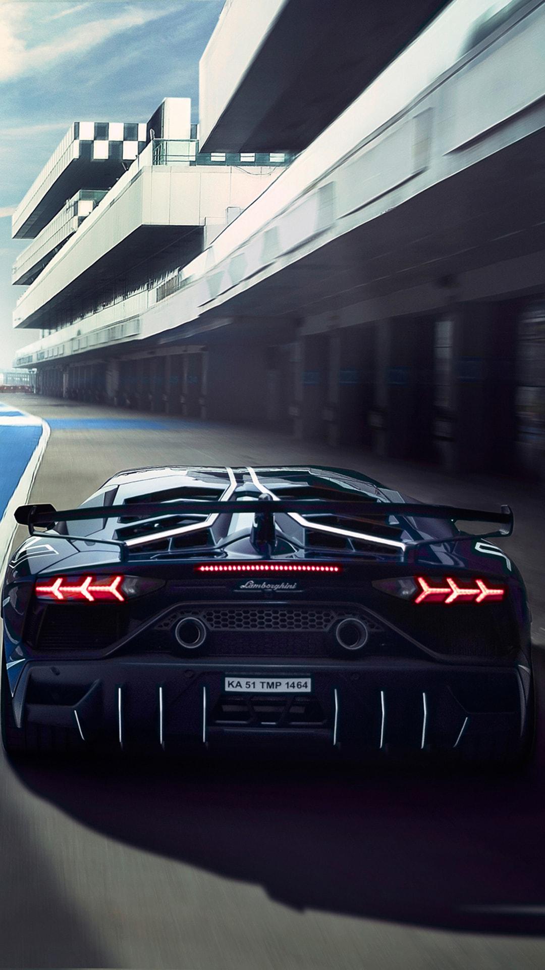 Lamborghini Aventardor SVJ 4k