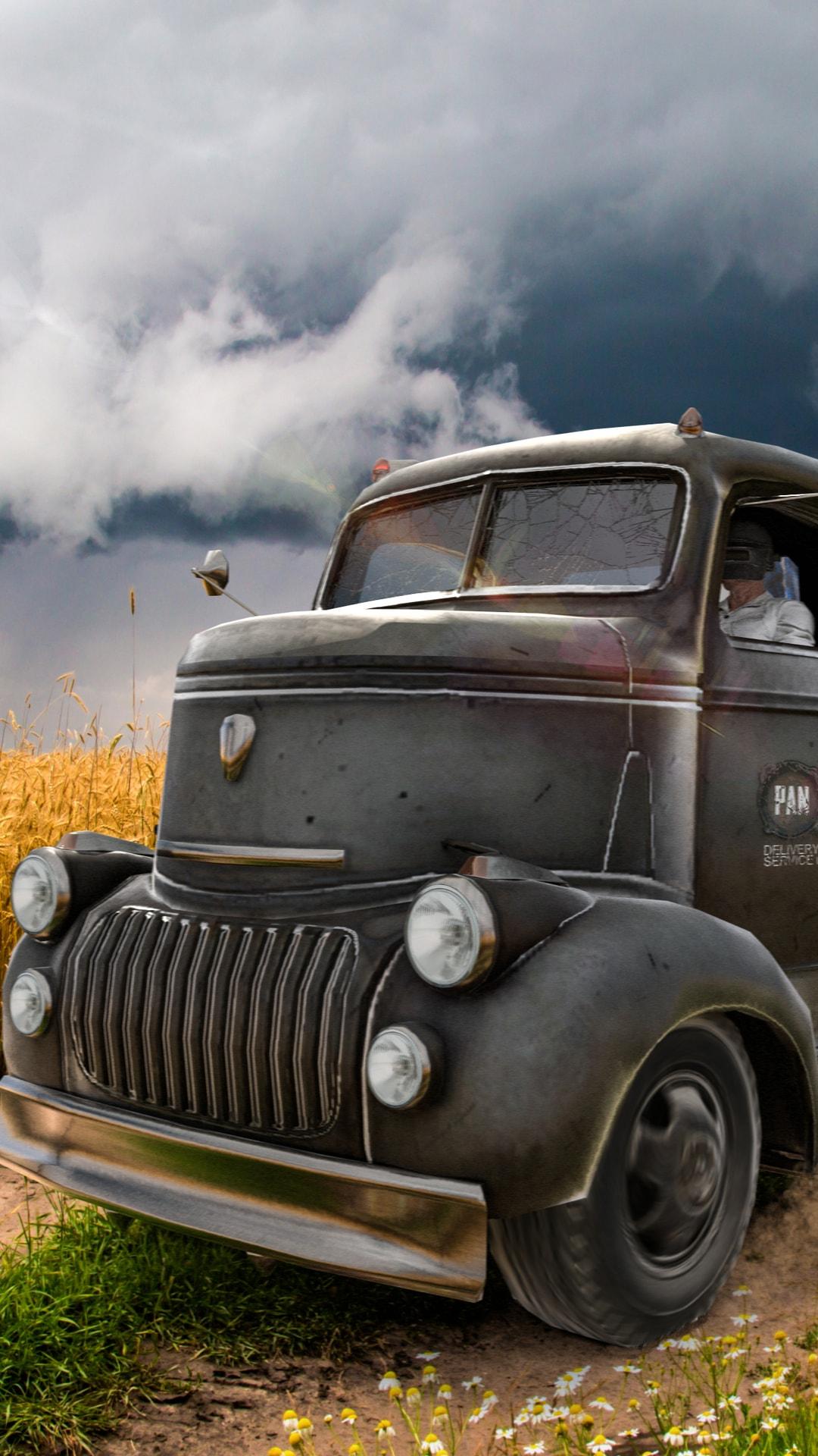 PlayerUnknowns Battlegrounds Truck 4k
