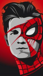 Tom Holland Spiderman Mask