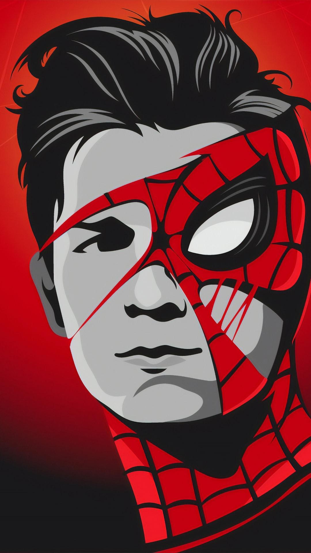 Tom Holland Spiderman Mask