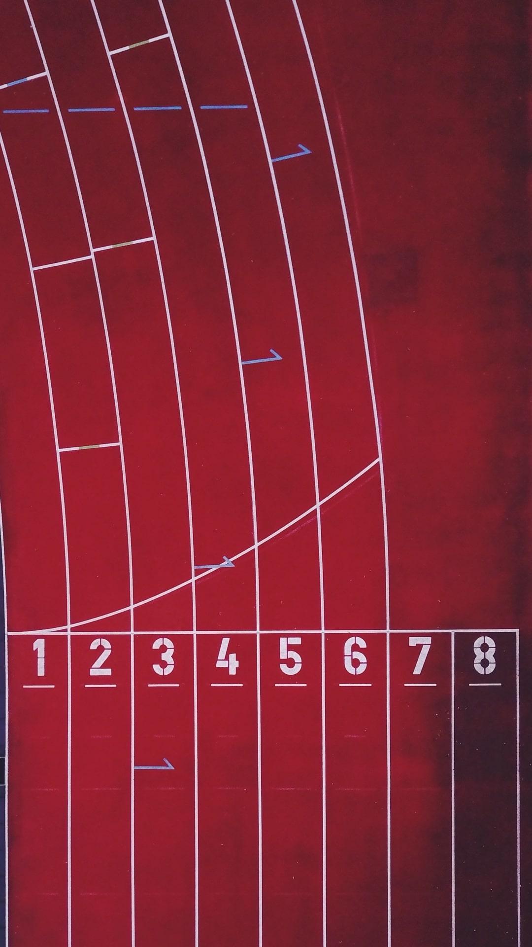 Racing Track Numbers