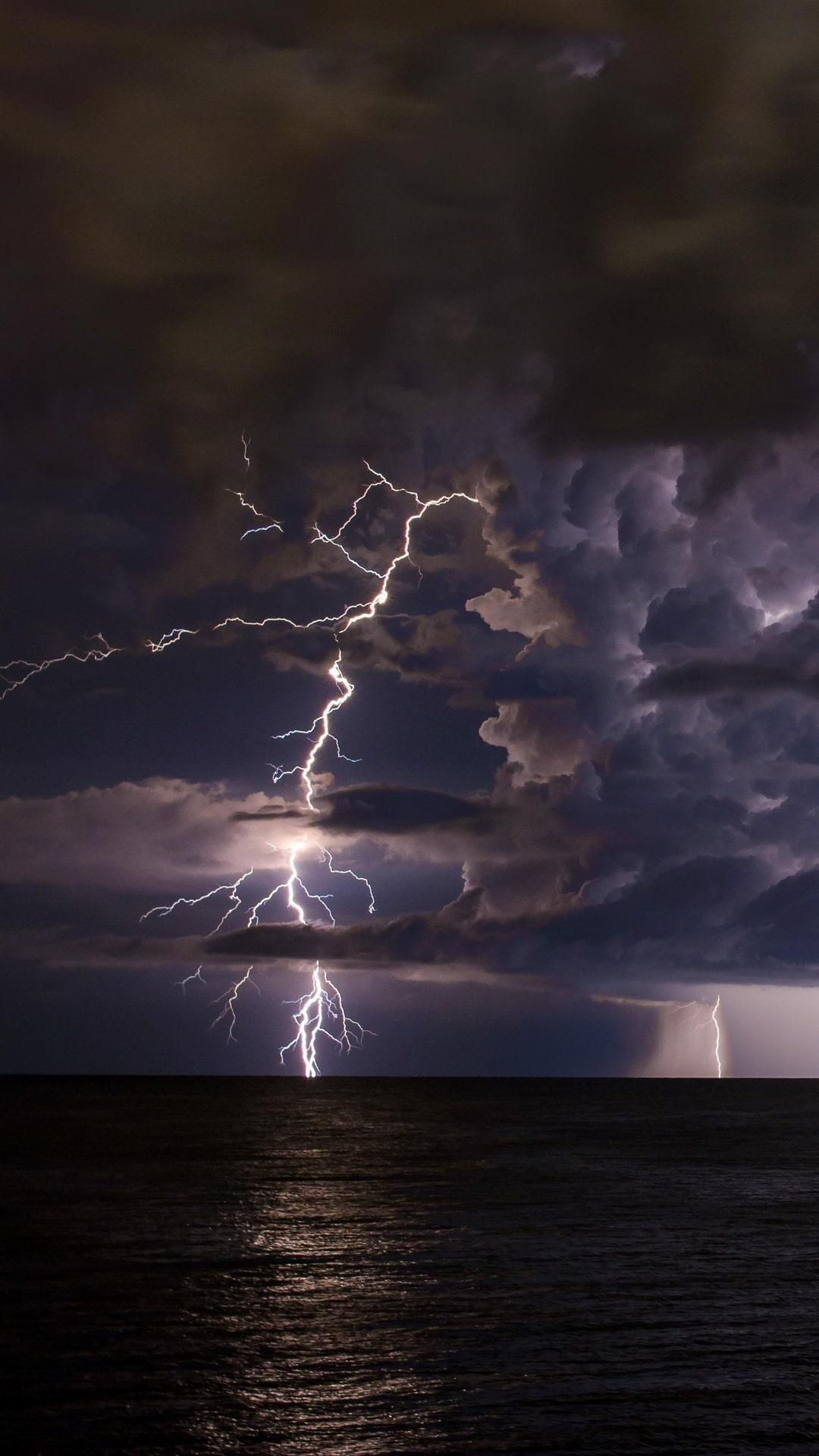Rain Shower Lightning