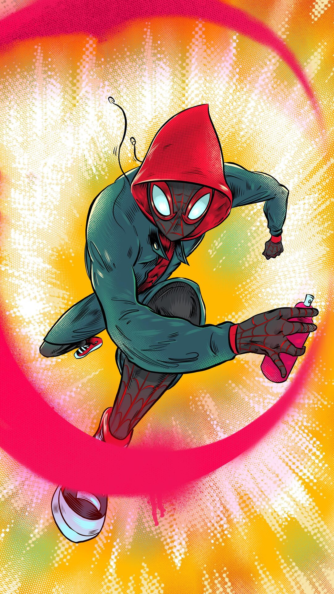 Spiderman Miles Morales artworks