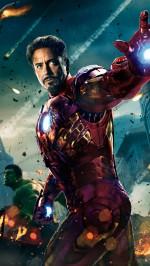 The Avengers Ironman and Hulk