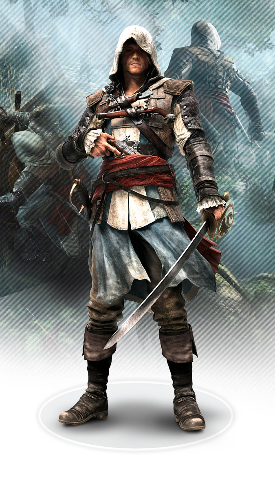 assassins creed 4 htc one wallpaper