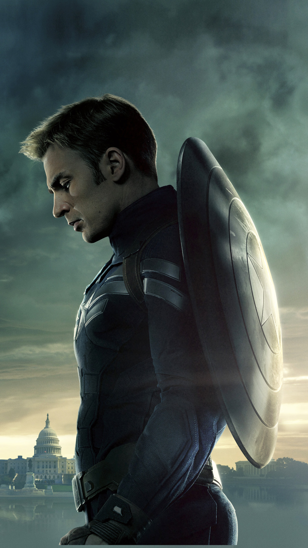Captain America Winter Soldier Best Htc One Wallpapers