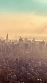 New York City Sunrise Haze