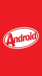 Android KitKat Logo Lockscreen