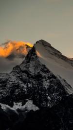 Himalaya Mountains Sunset