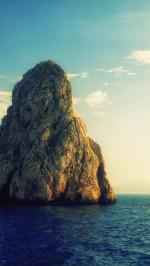 Huge Rock Island