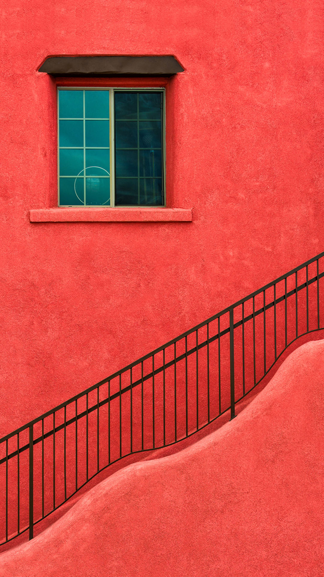 Red House Wall Window Stairs Best htc one wallpapers