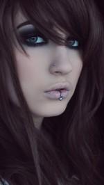 Girl piercing