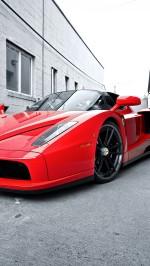 Red Ferrari Enzo