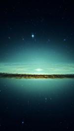 Blue Galaxy Stars