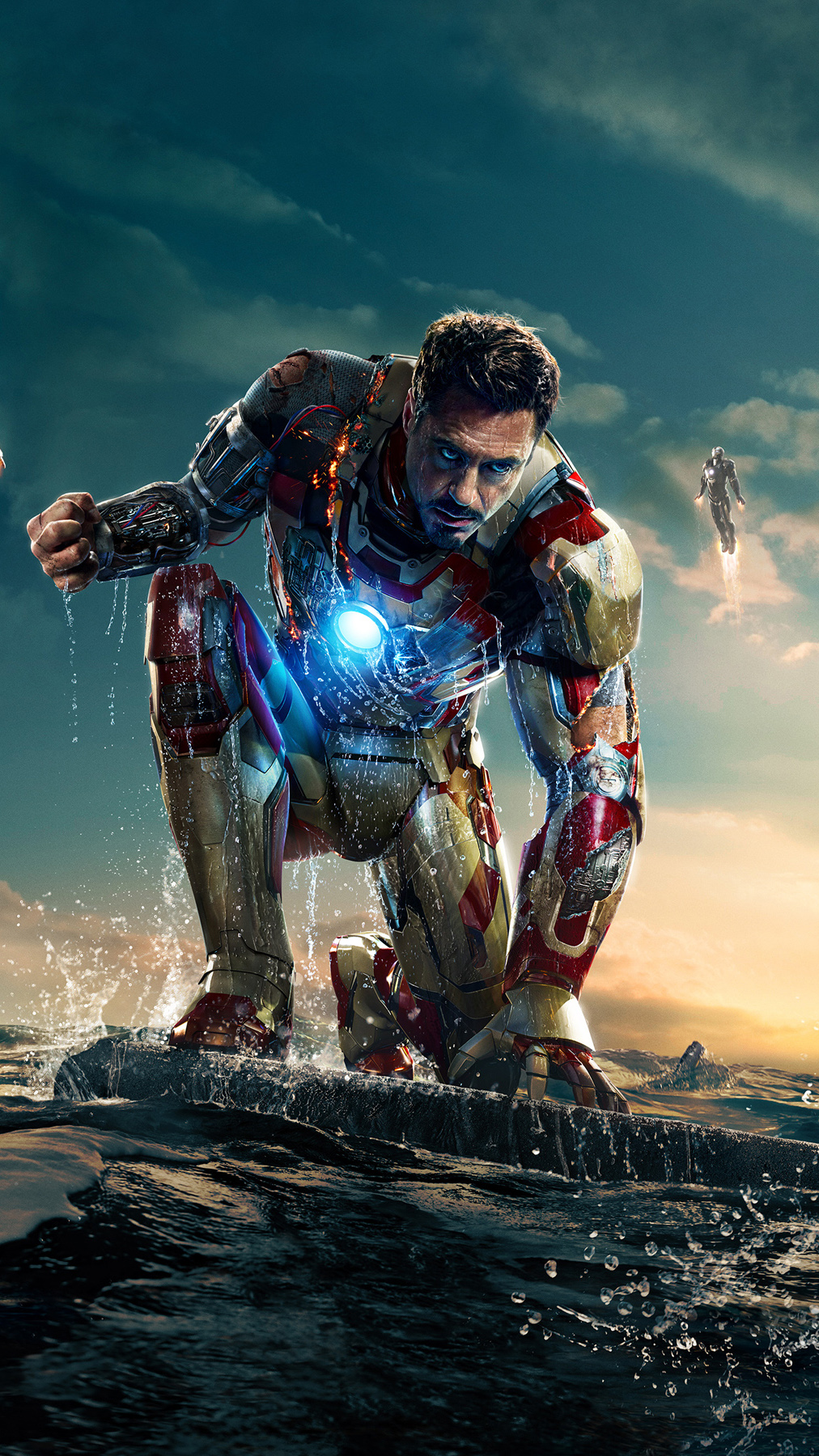 Iron Man 3 Best Htc One Wallpapers